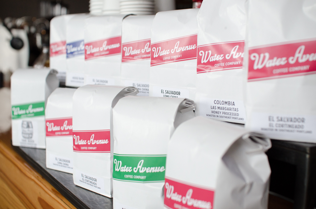 Water Avenue Coffee Whole Bean Coffee Bags